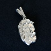 Pendant Steel Face of Christ Small