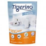 Tigerino Crystals XXL arena absorbente - Pack % - 3 x 5 l