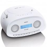 Lenco Draagbare DAB+ radio met CD/MP3-speler SCD-69 wit