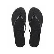 Havaianas-Slippers-Flipflops You Metallic-Zwart