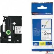 Етикетна лента Brother TZ-EFX231 Tape Black on White, Flexible ID, 12mm, 8m, TZEFX231