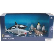 Set 7 figurine National Geographic Animalute polare