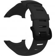 Xiper - Sportbandje voor Suunto Core Silicone Watchband - Zwart