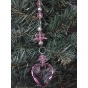 Decoratiune Ice roz
