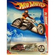 Hot Wheels Race World Highway 2010 PIT CRUISER #3/4 1:64 Scale Collectible Motorcycle