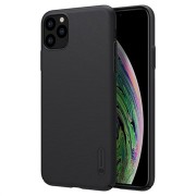 Nillkin Super Frosted Shield iPhone 11 Pro Cover - Zwart