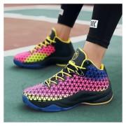 Zapatillas Baloncesto Con Luz Acolchada Para Hombre Zapatillas Deporte