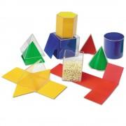 Primii pasi in geometrie - Figuri geometrice desfasurate