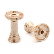creuzet narghilea el nefes porcelain marble-brown