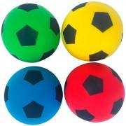 4 Foamballen   20 cm   Zachte voetballen   Softy ballen   Lichte Voetbal