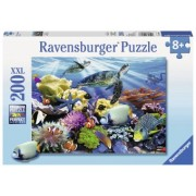 Puzzle Copii 6Ani+ Testoase de ocean, 200 piese