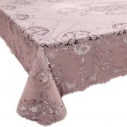 Unique Living Buiten tafelkleed/tafellaken oud roze 137 x 180 cm rechthoek