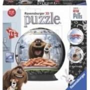 PUZZLE 3D VIATA SECRETA A ANIMALELOR 72 PIESE Ravensburger