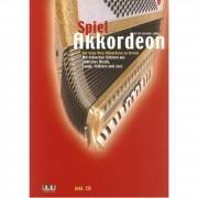 AMA Verlag Spiel Akkordeon (Lehrbuch) Peter Michael Haas