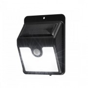 Reflector LED cu panou solar, cu senzor de miscare Home FLP 1 Solar, 4 leduri FMG-FLP1SOLAR