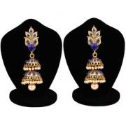 Penny Jewels Fashion Designer Alloy Party Wear For Wedding Latest Fancy Jhumki Earring Set For Women Girls