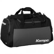 Kempa Sporttasche TEAMLINE - schwarz/anthrazit/weiß | L