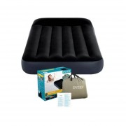 Colchon Negro Inflable Twin Clasico 99 x 191 x 25 cm Intex