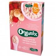 Organix - Cereale Muesli, Zmeura, Banane 10+ luni(200g)