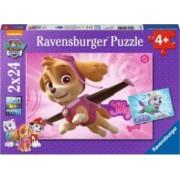 Puzzle RavensBurger Patrula Catelusilor Roz