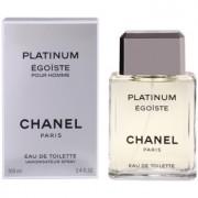 Chanel Égoïste Platinum Eau de Toilette para homens 100 ml