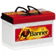 Banner Power Bull Professional 12V 77Ah 680A P7740 autó akkumulátor jobb+ (+AJÁNDÉK!)