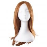Rapunzel® Perücken Lace Front Perücke Glatt - Wärmebeständig 6.3 Copper 50 cm