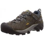 KEEN Men's Targhee II Hiking Shoe,Gargoyle/Midnight Navy,8.5 M US