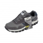 1 Par De Hombres Transpirable Zapatos Casuales Ejecutando Viajes Zapatillas Para Verano Otoño Gris