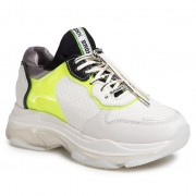 Сникърси BRONX - 66341-BV Off White/N.Yellow/Blac