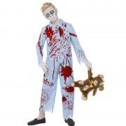Zombiepojke i Pyjamas Maskeraddräkt (Medium)