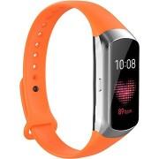 Tactical szilikonszíj Samsung Galaxy Fit aktivitásmérőhöz - narancsszín
