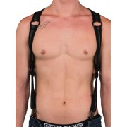 665 Inc. Neoprene Heckler Harness Black 14519M