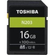 Toshiba N203 16 GB SDHC Class 10 100 MB/s Memory Card