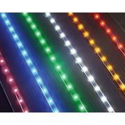 LED Light Strip - 35 - 54 Purple Lights - Package of 2 Strips
