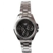 Casio Enticer Analog Black Dial Womens Watch - LTP-2088D-1AVDF (A933)