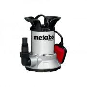 TPF 6600 SN Pompa submersibila de drenaj apa curata Metabo , inaltime de refulare 5 m , debit 6600 l/h ,putere 450 W