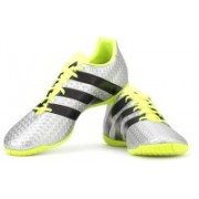 ADIDAS ACE 16.4 IN Men Football Shoes For Men(Silver)