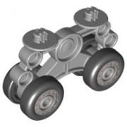 52925c01 DUPLOLandingsgestel met 4 wielen