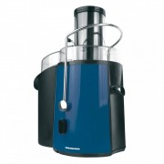 Storcator de fructe si legume Heinner XF-1000BL, 1000W, 2 viteze, Negru/Albastru