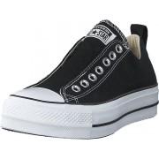 Converse Chuck Taylor Lift Slip Black/white/black, Skor, Sneakers & Sportskor, Låga sneakers, Grå, Dam, 38