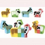 Игра с магнити животни от фермата Vilac