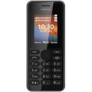 Microsoft Nokia Dual-SIM mobiele telefoon (4,5 cm (1,8 inch) kleurendisplay, 0,3 megapixel camera, FM-radio, Bluetooth), zwart