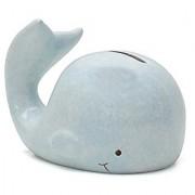 Child to Cherish Mini Whale Piggy Bank Blue