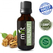 MNT Walnut Cold Pressed Carrier Oil (15Ml) 100% Pure Natural & Therapeutic Grade & Aromatherapy for Hair Care and Skin Care