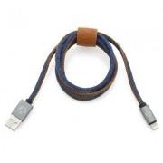 geschenkidee.ch DCS USB Kabel 100cm Lightning Blue Jeans