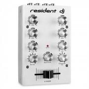 Resident DJ pikknikk silver Mezclador DJ 2 canales plateado (PAS1-pikknikk-silver)