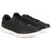 Skechers GO WALK LITE - FLARE Walking Shoes For Women(Black)