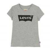 Levi's Kids T-shirt de mangas curtas, 2 - 16 anosCinza Mesclado- 4 anos (102 cm)