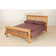 Nottingham Oak Nottingham Rustic Oak King Size Bed
